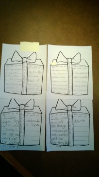 3rd grade student work