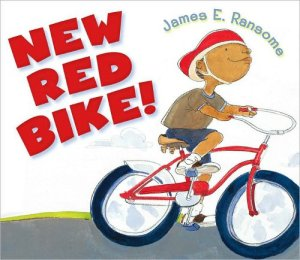 new-red-bike-james-ransome