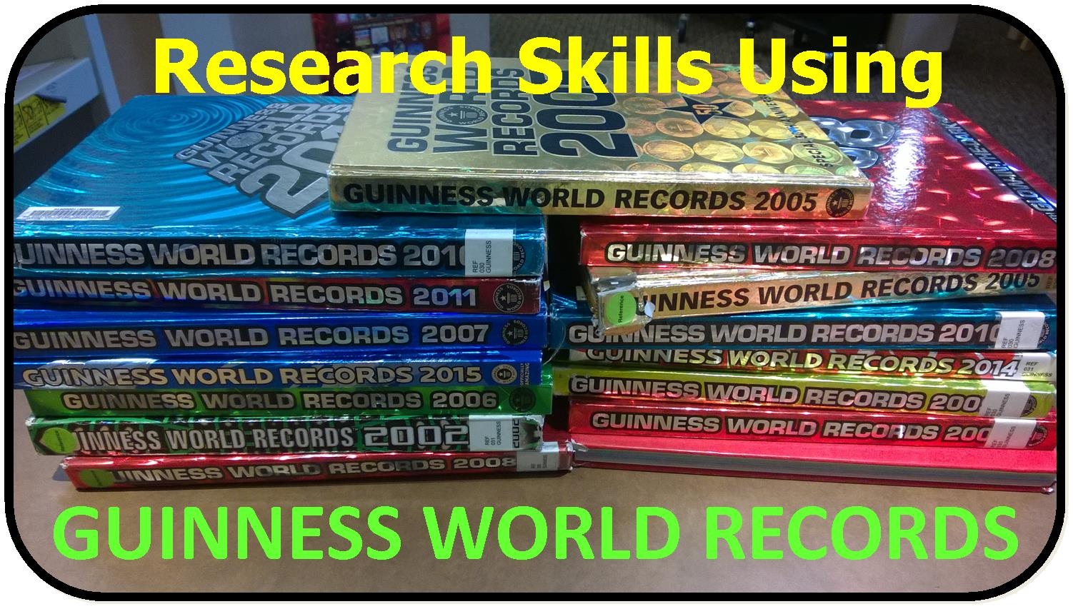 Research skills using the guinness book of world records for Guinness world record certificate template