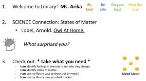 Elementary library tips & tricks | Teaching in the